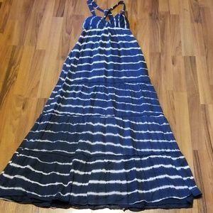 {Abercrombie & Fitch} Tie Dye Maxi Dress